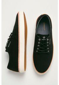 GANT - Gant - Tenisówki Prepville. Nosek buta: okrągły. Zapięcie: sznurówki. Kolor: czarny. Materiał: guma