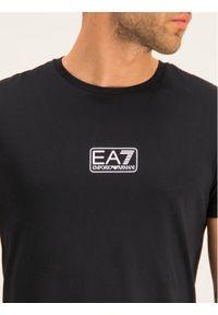 Czarny t-shirt EA7 Emporio Armani