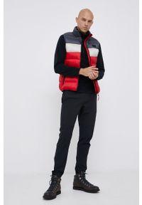 CMP - Bezrękawnik. Okazja: na co dzień. Kolor: czerwony. Materiał: włókno, puch, syntetyk. Długość rękawa: bez rękawów. Styl: casual