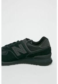 Czarne sneakersy New Balance z cholewką, New Balance 574