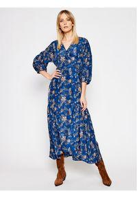 Levi's® Sukienka codzienna Blair Wrap 29294-0002 Niebieski Regular Fit. Okazja: na co dzień. Kolor: niebieski. Typ sukienki: proste. Styl: casual