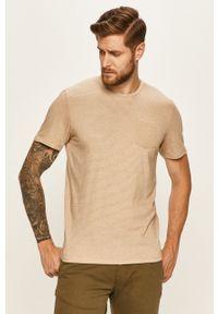 T-shirt Tom Tailor Denim z okrągłym kołnierzem, na co dzień, casualowy