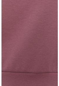 Only Play - Bluza. Kolor: różowy. Długość rękawa: długi rękaw. Długość: długie