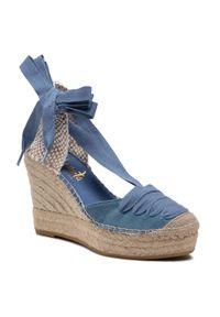 Niebieskie sandały Vidorreta na co dzień, casualowe