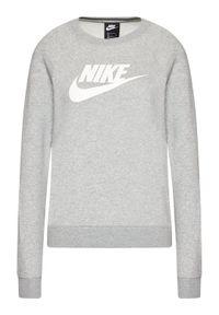 Nike Bluza Essential Crew BV4112 Szary Standard Fit. Kolor: szary