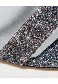 Casadei - CASADEI - Sandały na szpilce Atlas. Nosek buta: okrągły. Zapięcie: pasek. Kolor: szary. Obcas: na szpilce. Wysokość obcasa: średni