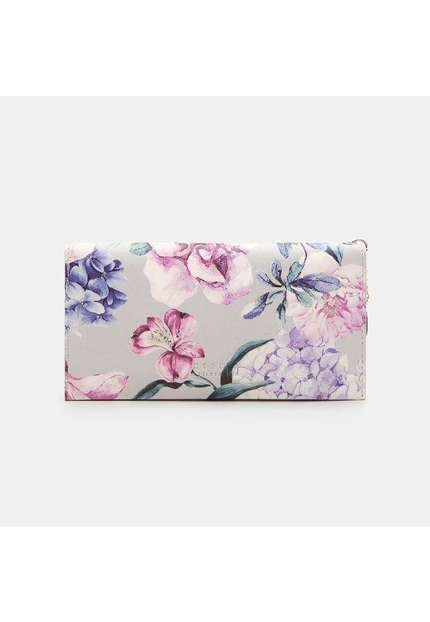 Mohito - Portfel w kwiaty - Wielobarwny. Wzór: kwiaty