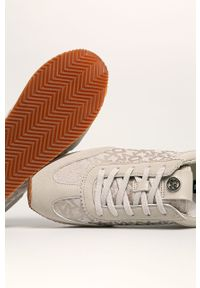 Buty sportowe DKNY z okrągłym noskiem, na średnim obcasie