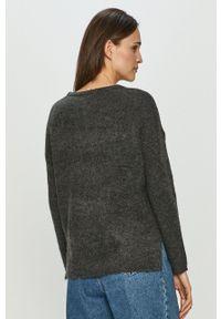 Haily's - Sweter. Okazja: na co dzień. Kolor: szary. Długość rękawa: długi rękaw. Długość: długie. Styl: casual