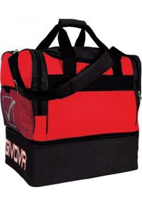 Givova Torba Borsa Big czerwono-czarna B0010 1210. Kolor: wielokolorowy, czerwony, czarny