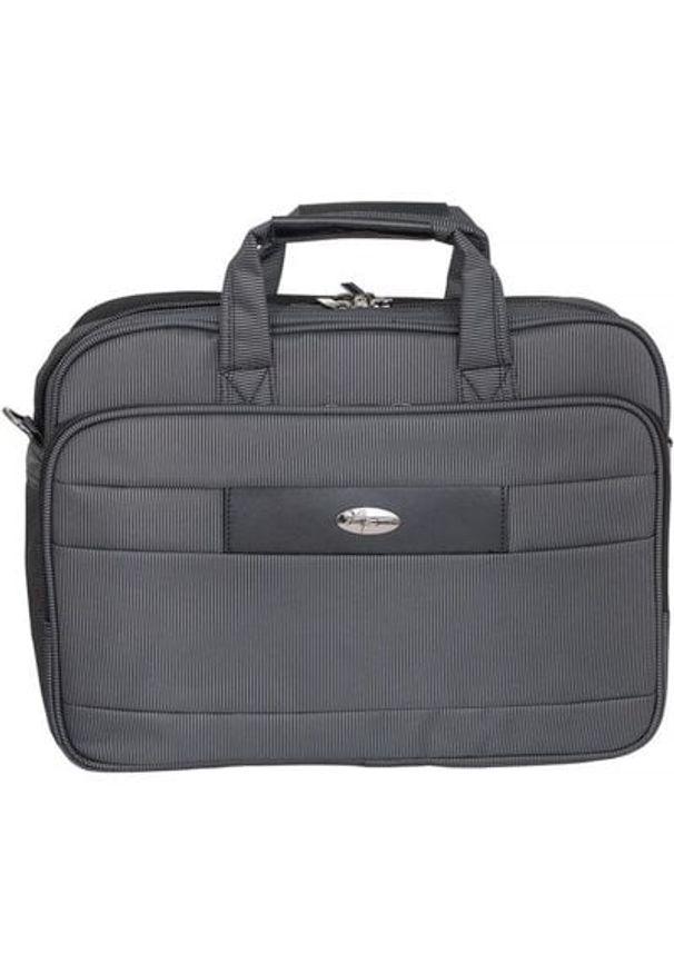 Czarna torba na laptopa ART w kolorowe wzory