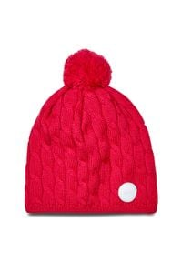 Reima - Czapka REIMA - Nyksund 528668 Raspberry Pink 4650. Kolor: różowy. Materiał: wełna, akryl, materiał