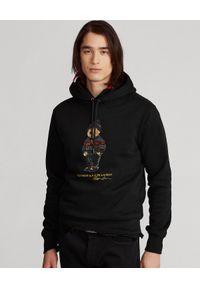 Ralph Lauren - RALPH LAUREN - Czarna bluza z kapturem Lunar New Year Polo Bear. Typ kołnierza: kaptur, polo. Kolor: czarny. Materiał: bawełna. Długość rękawa: długi rękaw. Długość: długie. Wzór: nadruk