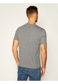 Champion T-Shirt Logo 214194 Szary Comfort Fit. Kolor: szary