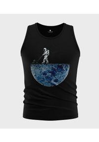 MegaKoszulki - Koszulka męska bez rękawów Astronaut. Materiał: bawełna. Długość rękawa: bez rękawów