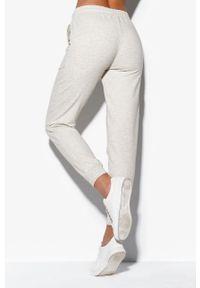 Szare spodnie dresowe Cardio Bunny gładkie