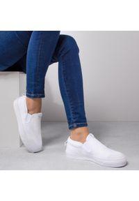 Białe trampki Adidas z cholewką #8
