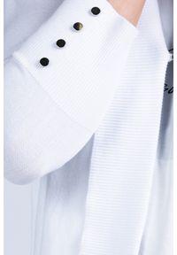 Biały sweter Monnari na co dzień, casualowy