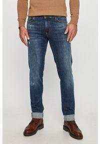 Niebieskie jeansy Trussardi Jeans klasyczne