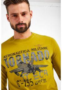 Aeronautica Militare - LONGSLEEVE AERONAUTICA MILITARE. Okazja: na co dzień. Długość rękawa: długi rękaw. Wzór: nadruk. Styl: casual #3