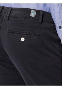 Pierre Cardin Spodnie materiałowe 33757/000/2000 Granatowy Modern Fit. Kolor: niebieski. Materiał: elastan, materiał, bawełna