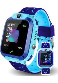 Smartwatch CALMEAN Child Watch Easy Niebieski. Rodzaj zegarka: smartwatch. Kolor: niebieski