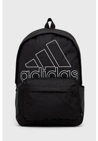 Adidas - adidas - Plecak. Kolor: czarny. Materiał: materiał