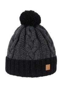 Szara czapka Spree na zimę