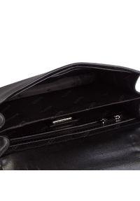 Czarna torebka Kazar klasyczna, na ramię