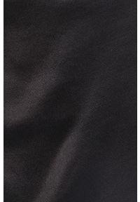 Czarna sukienka Answear Lab gładkie, na ramiączkach, midi