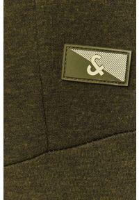 Oliwkowe spodnie dresowe Jack & Jones