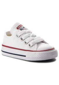 Białe półbuty Converse