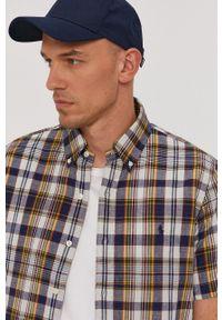 Polo Ralph Lauren - Koszula bawełniana. Typ kołnierza: polo. Materiał: bawełna. Długość rękawa: krótki rękaw. Długość: krótkie