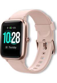 Różowy zegarek Cubot smartwatch