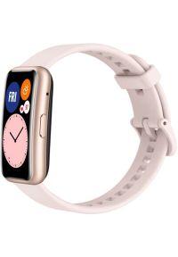 Różowy zegarek HUAWEI smartwatch