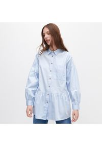 Niebieska koszula Reserved długa