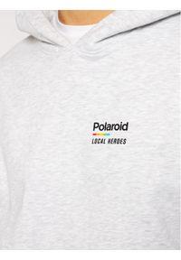 Local Heroes Bluza Polaroid LHPLS0007 Szary Regular Fit. Kolor: szary