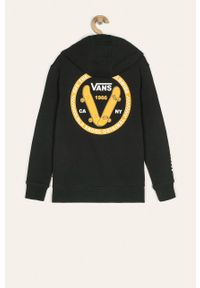 Czarna bluza Vans casualowa, na co dzień