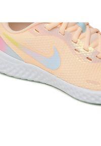 Nike Buty Revolution 5 Se (Gs) CZ6206 800 Pomarańczowy. Kolor: pomarańczowy. Model: Nike Revolution