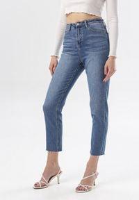Born2be - Jasnoniebieskie Jeansy Dorydoe. Stan: podwyższony. Kolor: niebieski. Materiał: jeans. Długość: długie