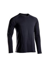 KIMJALY - Koszulka do jogi długi rękaw męska Kimjaly. Materiał: bawełna, poliamid, materiał. Długość rękawa: długi rękaw. Długość: długie. Sport: joga i pilates