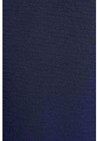 Niebieska sukienka Morgan mini, prosta