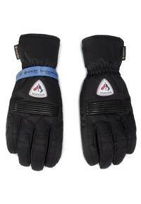Czarne rękawiczki sportowe Rossignol Gore-Tex, narciarskie
