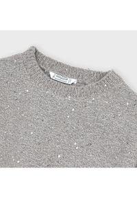 Mayoral Sweter 4347 Szary Oversize. Kolor: szary