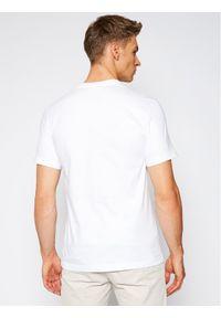Biały t-shirt Lacoste