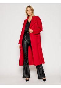 Czerwony płaszcz przejściowy Michael Kors