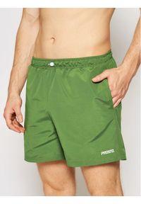 Prosto. - PROSTO. Szorty kąpielowe KLASYK Caste 3023 Zielony Regular Fit. Kolor: zielony