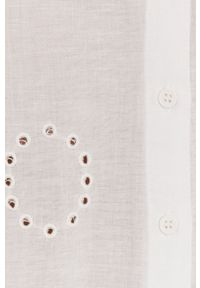 Biała koszula Answear Lab na co dzień, casualowa, długa