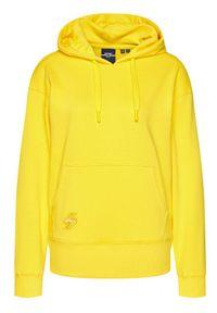 Superdry Bluza Sportstyle W2010334A Żółty Regular Fit. Kolor: żółty