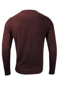 Czerwony sweter Brave Soul na co dzień, elegancki, z okrągłym kołnierzem